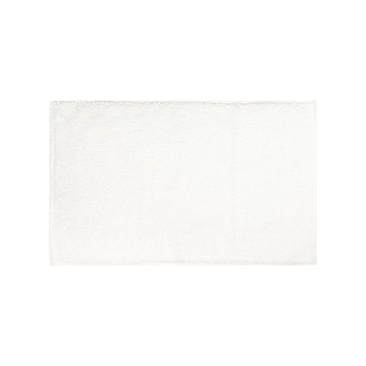 The Beads bath mat from the Connox Collection , 50 x 80 cm, white