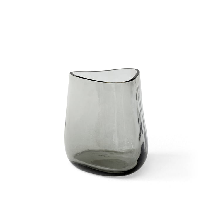 The Collect SC66 glass vase from & Tradition, h 16 cm, shadow