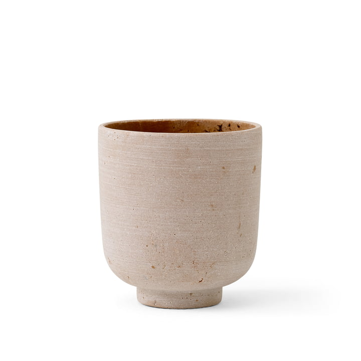 The Collect SC69 Flowerpot S from & Tradition, Ø 12 cm, ochre