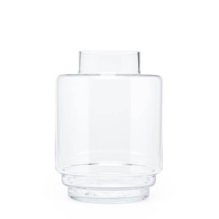 Monday Vase H 23 cm, transparent from Puik