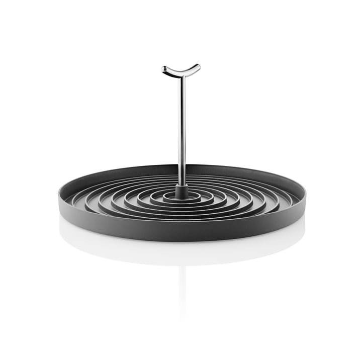 Foldable drainer, stainless steel / black by Eva Solo