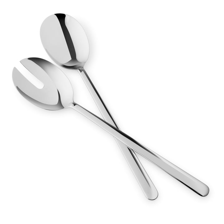 Legio Nova Salad servers, stainless steel from Eva Trio