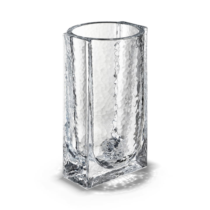 The Forma Vase from Holmegaard , H 20 cm, clear