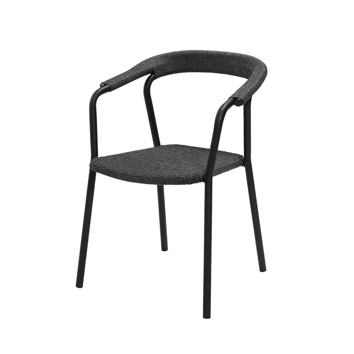 The Noble armchair Outdoor from Cane-line , dark grey