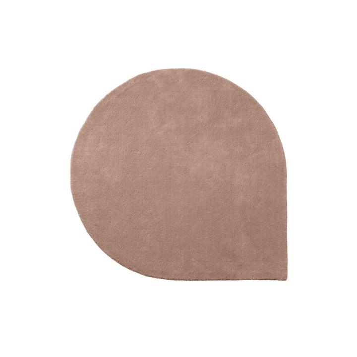 The Stilla carpet from AYTM , 130 x 160 cm, rose