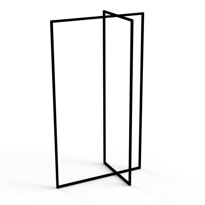 Roomsafari - Modular Frames Stand coat rack, black