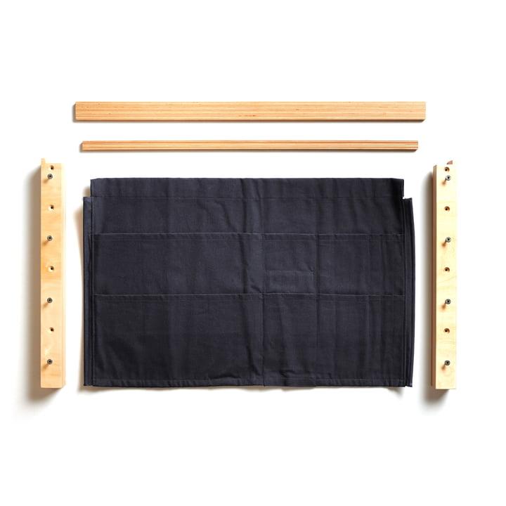 Fläpps Shelf Add On : Wall pocket from Ambivalenz