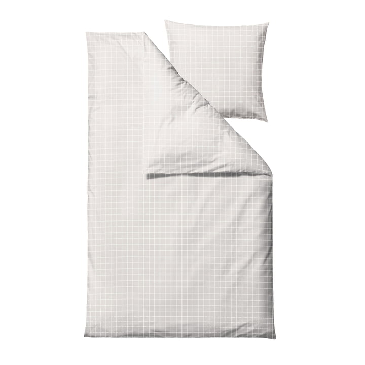 The Clear Damask bed linen from Södahl , 135 x 200 cm, white
