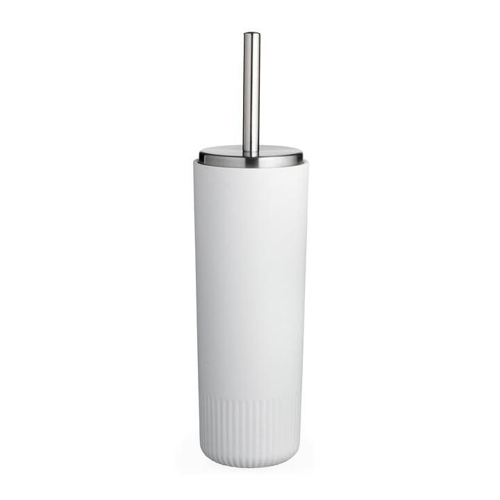 The Plissé toilet brush from Södahl , white