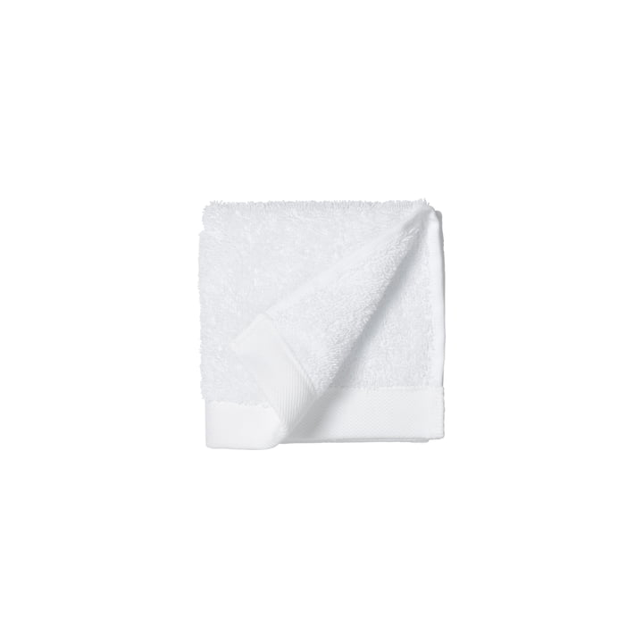 The Comfort Face cloth from Södahl , 30 x 30 cm, white