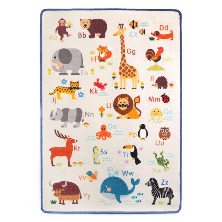 The play rug animal ABC from byGraziela , 90 x 130 cm