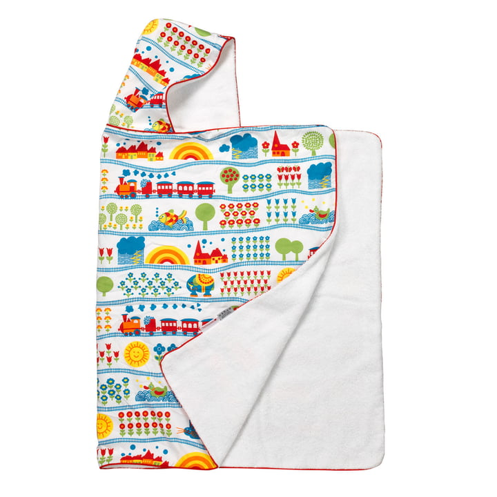 The hooded towel from byGraziela , Railway