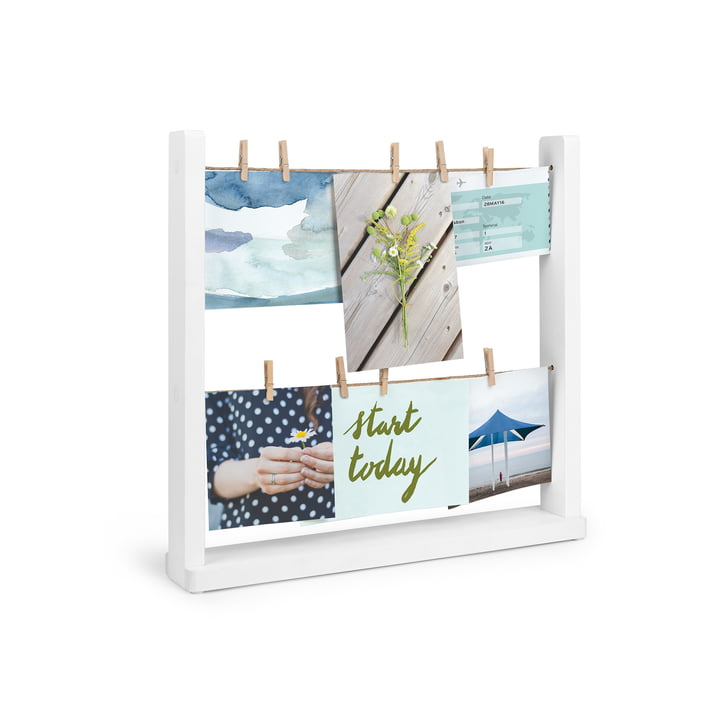Hangit Picture frame photo gallery from Umbra in white