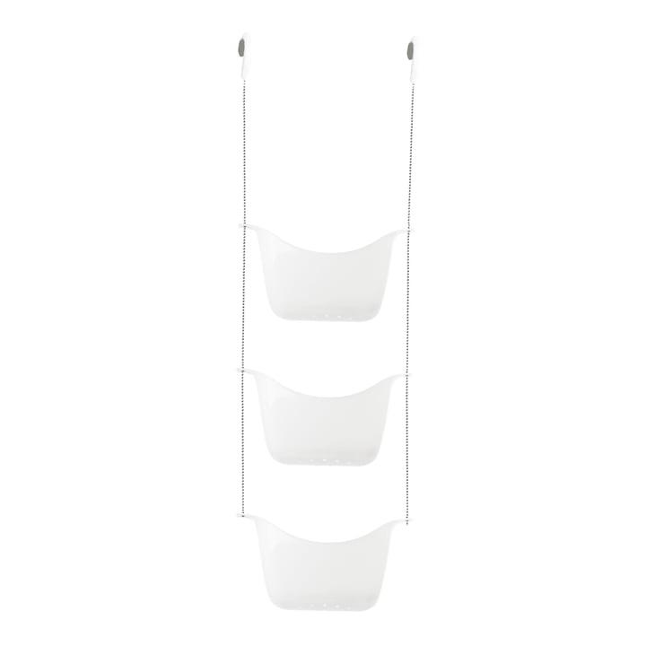 Bask Shower tray from Umbra in white / nickel