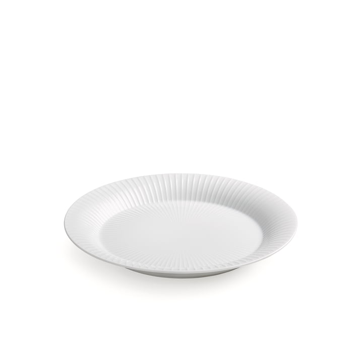Hammershøi Plate Ø 19 cm from Kähler Design in white