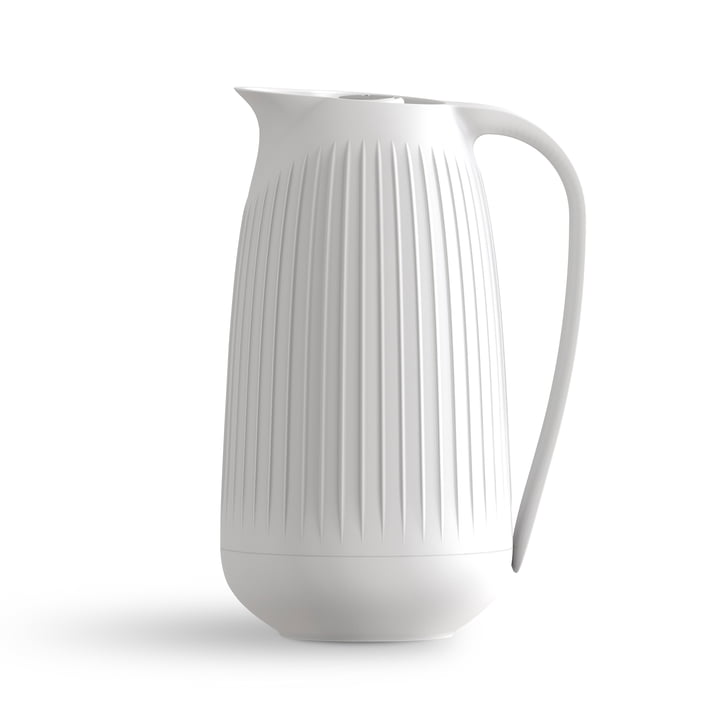 Hammershøi Vacuum jug 1 l from Kähler Design in white