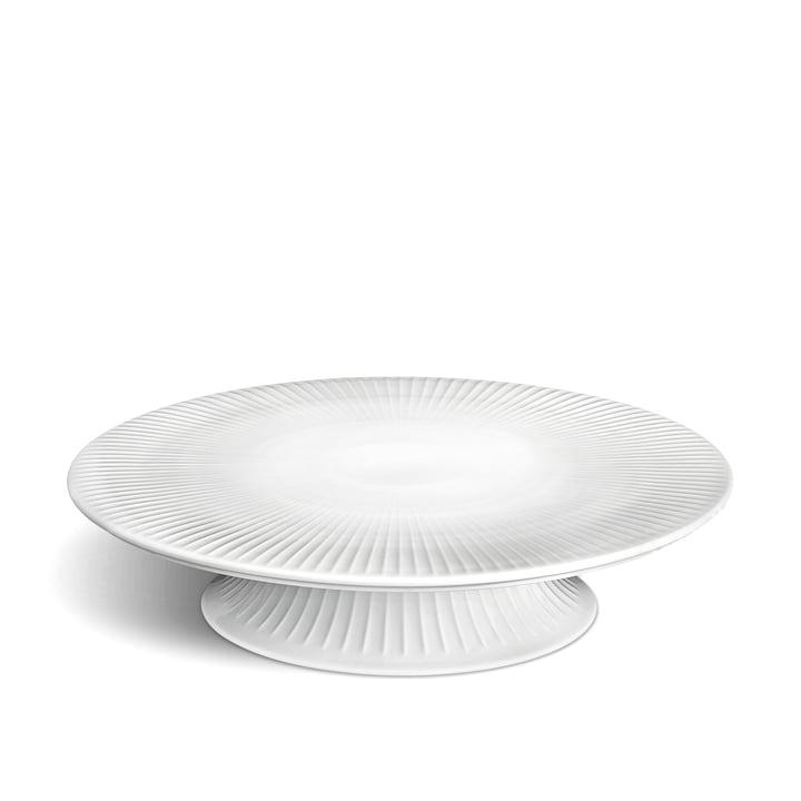 Hammershøi Cake plate Ø 30 cm from Kähler Design in white