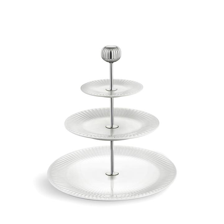 Hammershøi Etagere Ø 28 cm from Kähler Design in white