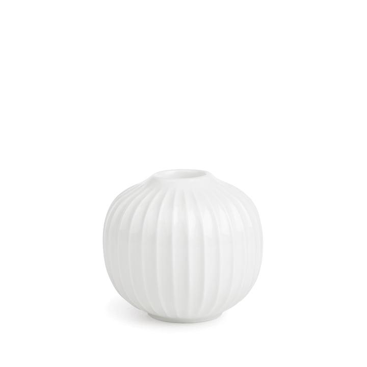 Hammershøi Candlestick Ø 8 x H 5,5 cm from Kähler Design in white