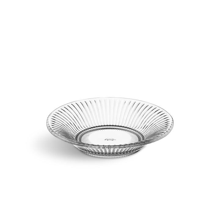 Hammershøi Plate Ø 17 cm from Kähler Design in crystal clear