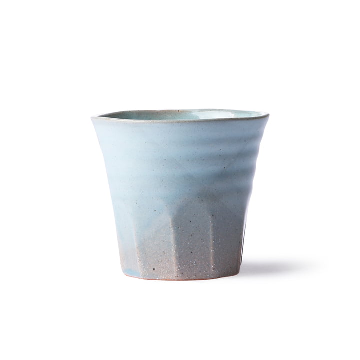 The Bold & Basic Ceramic mug from HKliving , blue / grey