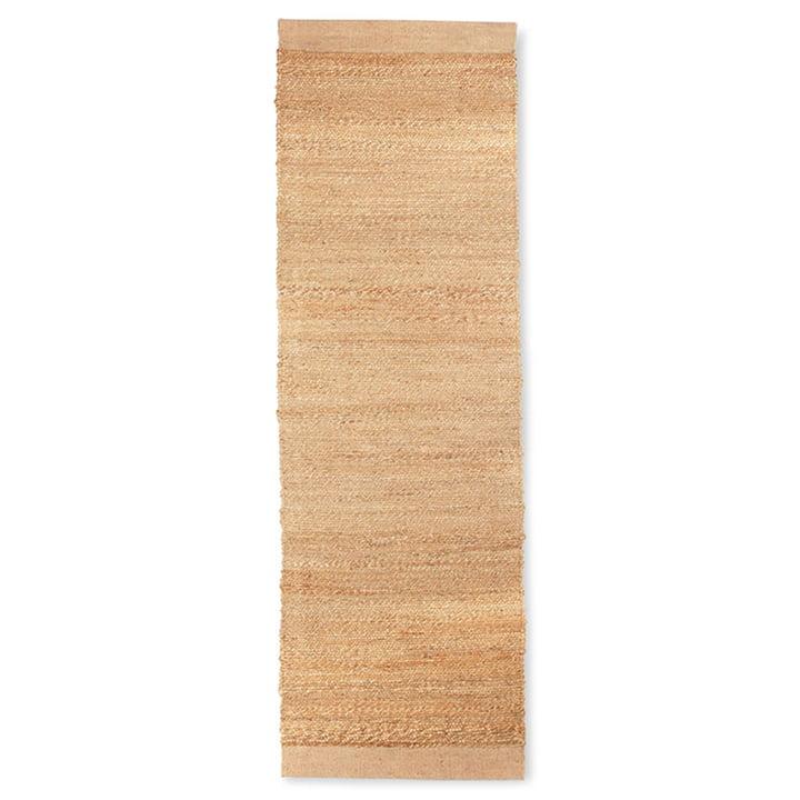 The hemp carpet from HKliving , 60 x 200 cm natural