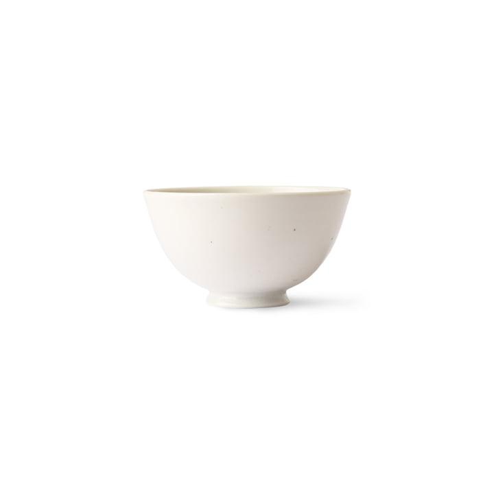 HKliving - Kyoto Rice bowl, Ø 11.3 cm, speckled white