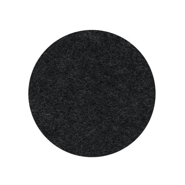 The felt pad for the Occo bar stool from Wilkhahn , graphite