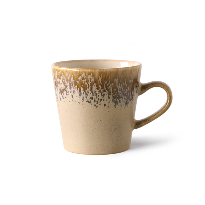 The 70's Americano cup from HKliving , bark