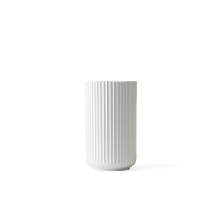 Lyngbyvase H 6 cm from Lyngby Porcelæn in white