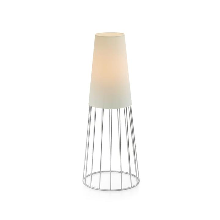 Lighthouse Garden light M from Philippi in white / silver