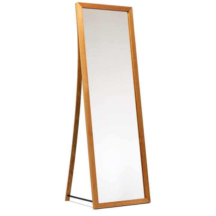 Framed Mirror from We Do Wood in natural oak