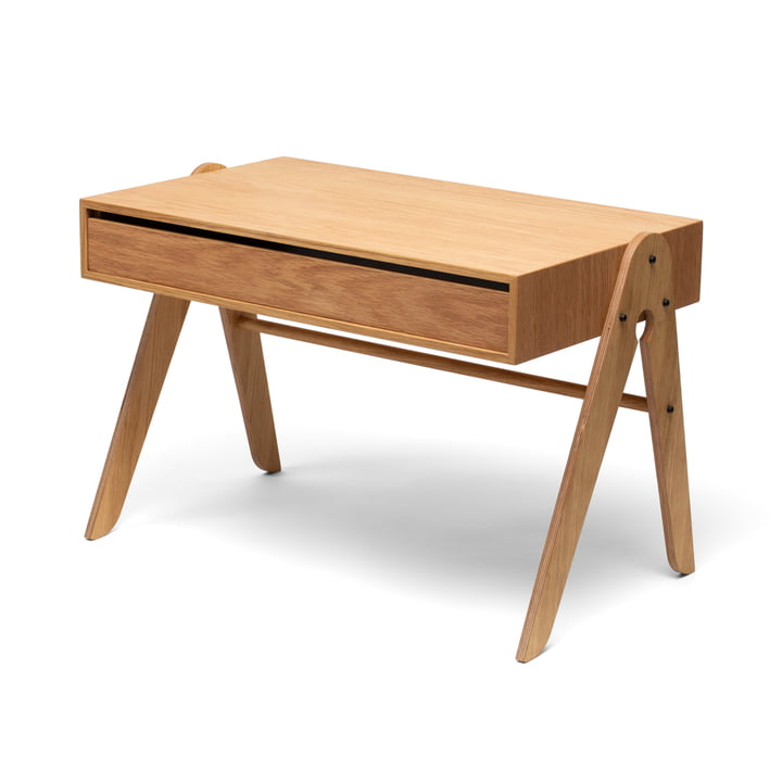 Geo's Table from We Do Wood in natural oak