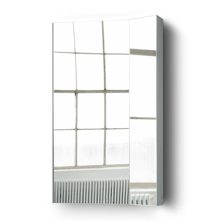 Mimesis Wall mirror from Please wait to be seated in ash grey