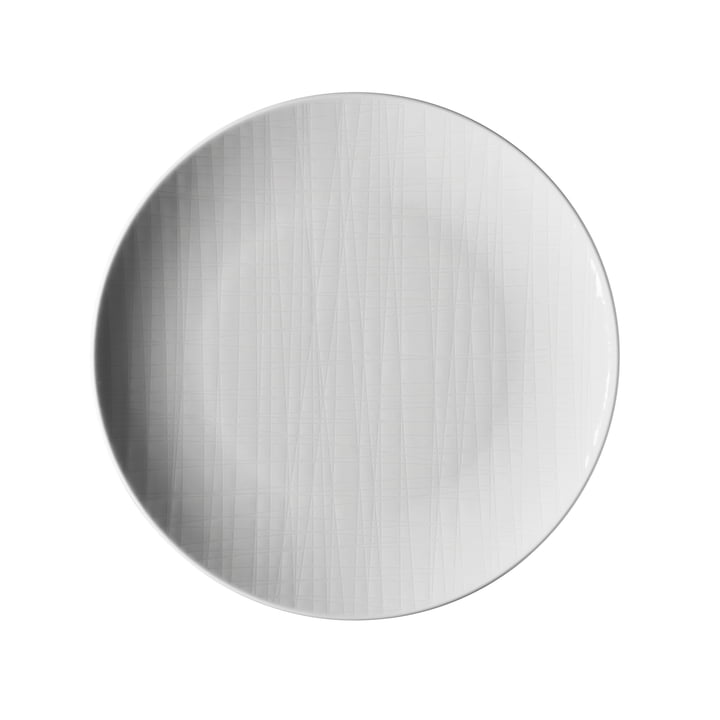 The Mesh plate from Rosenthal , Ø 21 cm flat, white