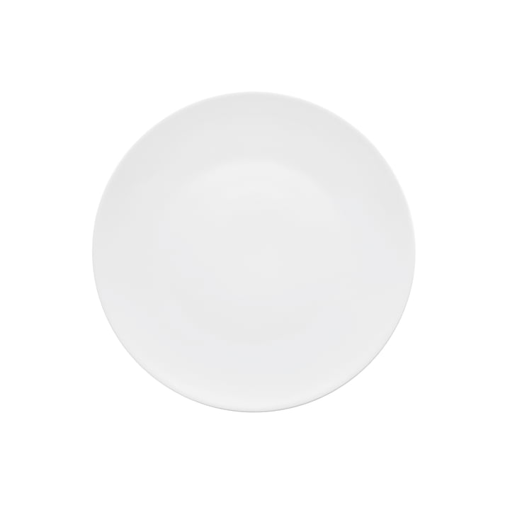 The TAC Gropius breakfast plate from Rosenthal , 22 cm, white