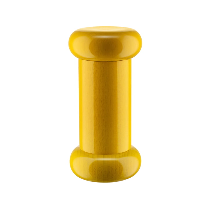 Twergi Salt/Pepper and Spice Mill ES19 from Alessi in bright yellow