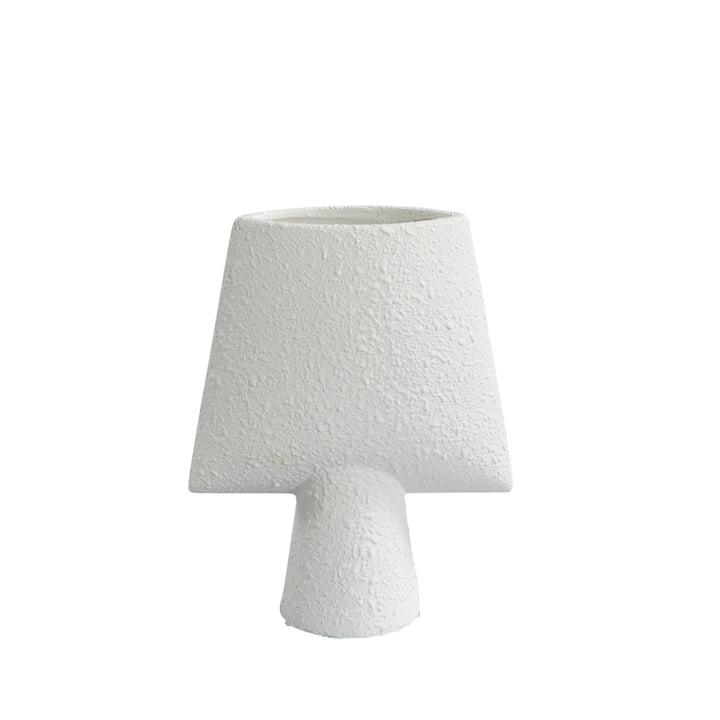 Sphere Vase Square Mini from 101 Copenhagen in Bubble White