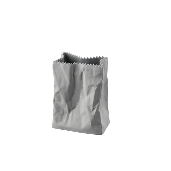 The bag vase from Rosenthal , 10 cm, lava