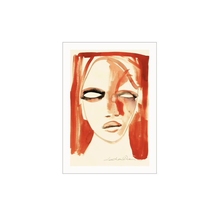 The Red Portrait poster from Paper Collective , 30 x 40 cm