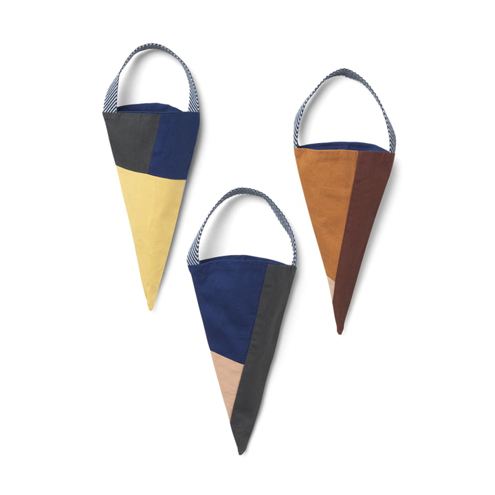 Shay Christmas cookie bag set of 3 by ferm Living