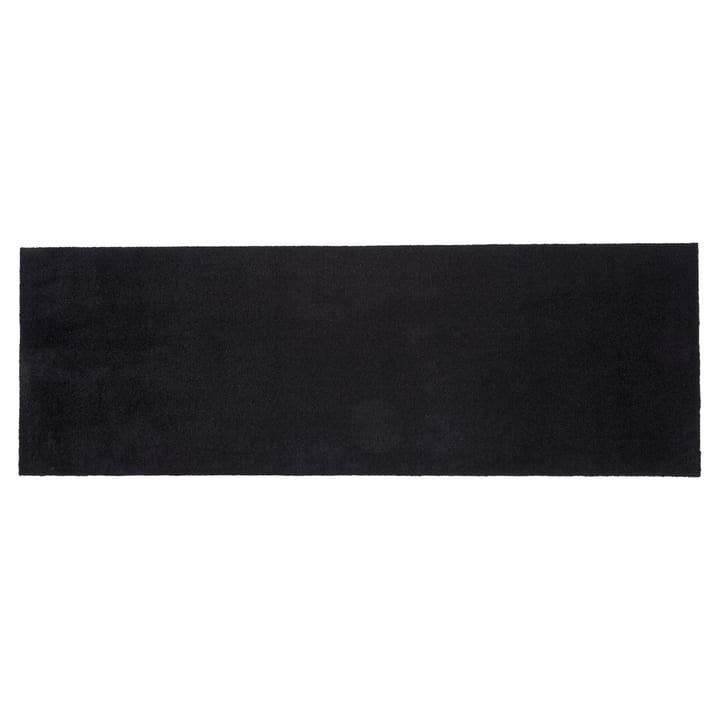 Doormat 67 x 200 cm from tica copenhagen in Unicolor black