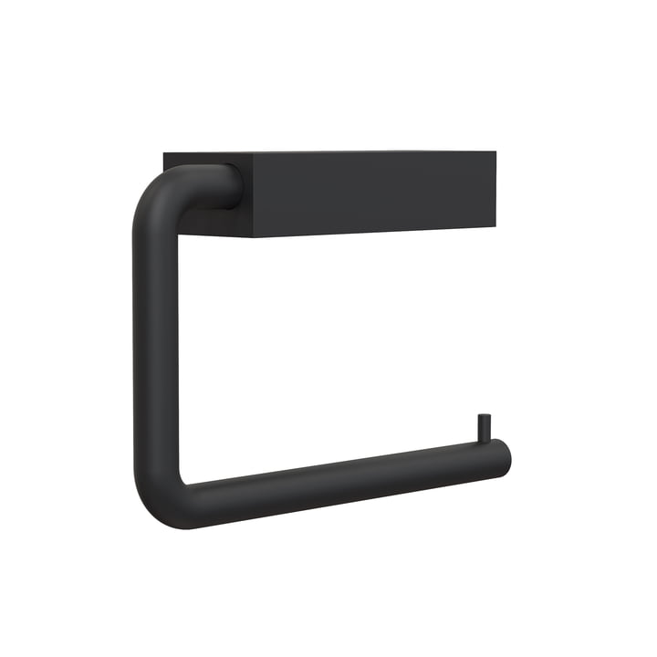 The Quadra WC roll holder 3 from Frost , black