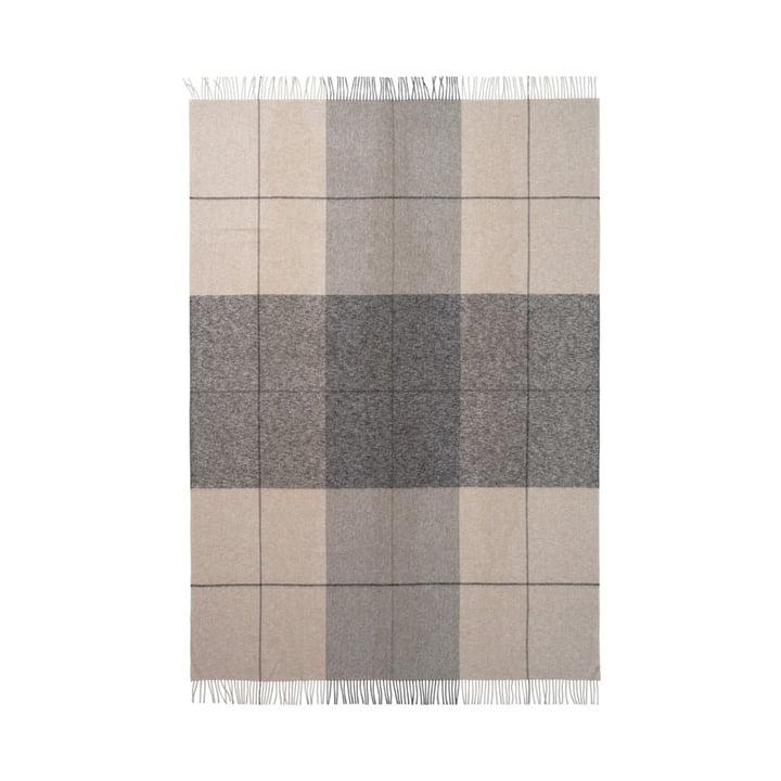 Blocks Blanket 130 x 190 cm from Elvang in beige / brown