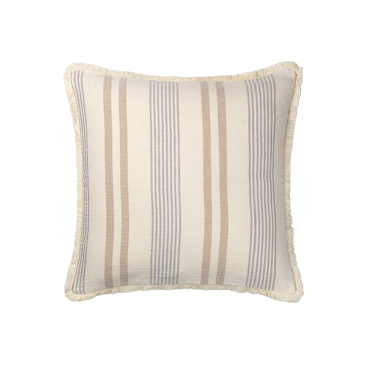 Iris Pillowcase 50 x 50 cm from Elvang in beige / grey