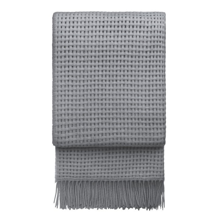 Basket Blanket 130 x 200 cm from Elvang in light grey