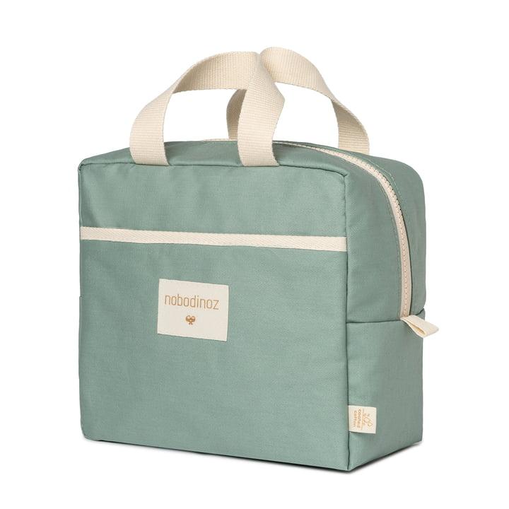 The Sunshine Lunch Bag by Nobodinoz, eden green