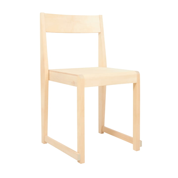 Chair 01 from Frama in birch oiled / nature