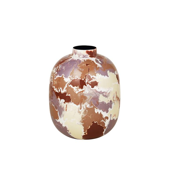 The Thyra vase from Broste Copenhagen , Ø 25 x H 31 cm, mix light color