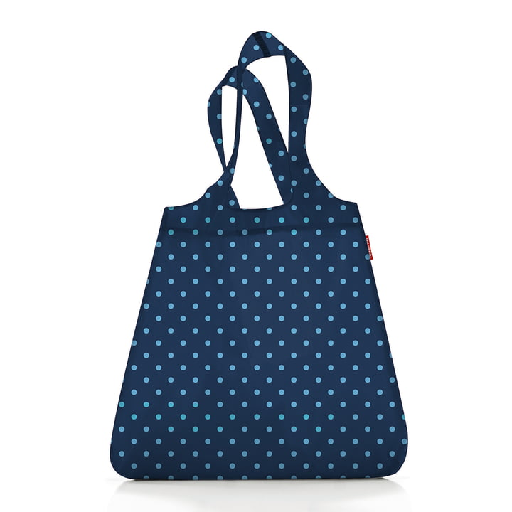 mini maxi shopper by reisenthel in mixed dots blue ( Limited Edition )
